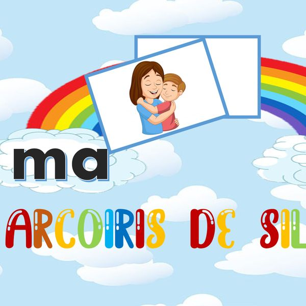 Imagem principal do produto Arcoíris de silabas