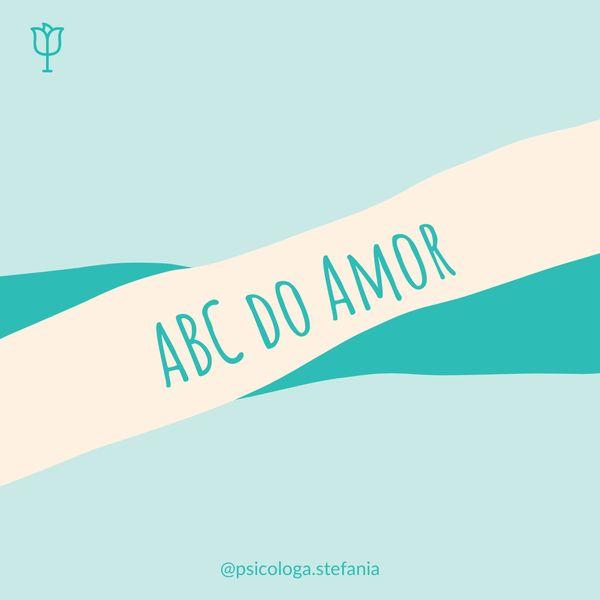 Imagem principal do produto ABC do Amor