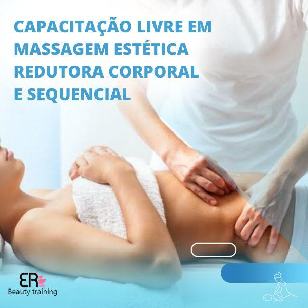 Imagem principal do produto Capacitação Livre em Massagem Estética Redutora Corporal e Sequencial
