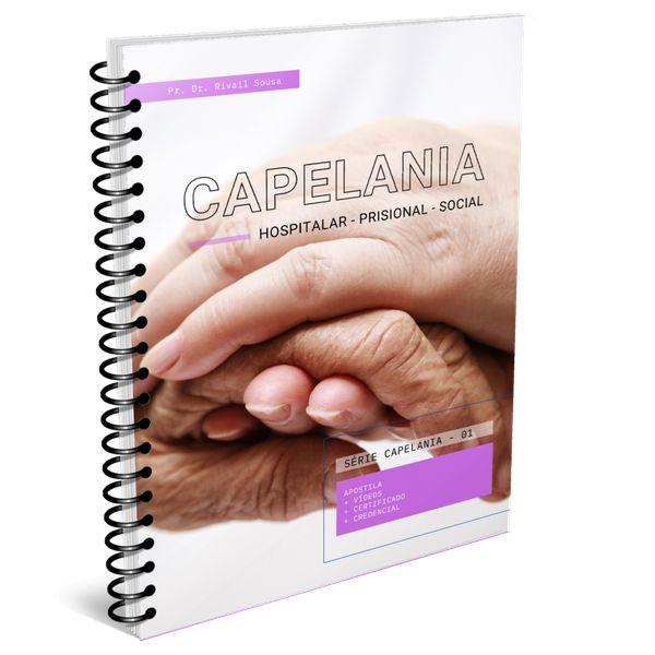 Imagem principal do produto Curso de Capelania Hospitalar, Prisional e Social