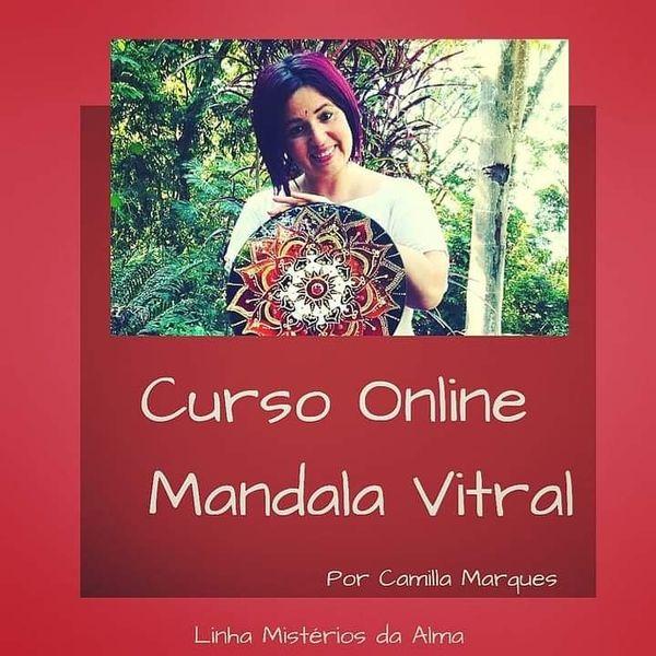 Imagem principal do produto Curso On-line de Mandala Vitral