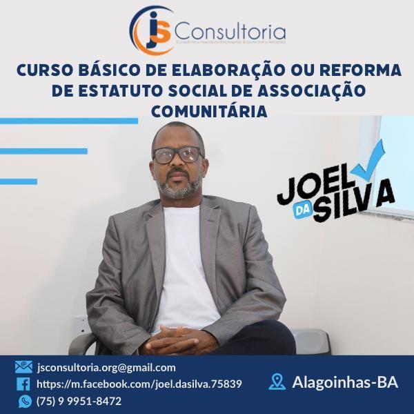 Imagem principal do produto CURSO BÁSICO DE ELABORAÇÃO OU REFORMA DE ESTATUTO SOCIAL DE ASSOCIAÇÃO COMUNITÁRIA