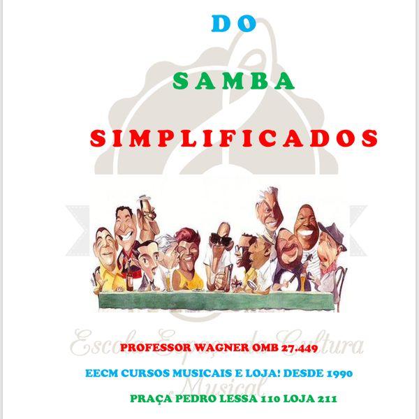 Imagem principal do produto 72 sambas simplificados cavaco
