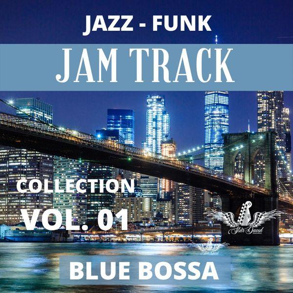 Imagem principal do produto Playback  Blue Bossa Jazz Funk  com Harmonia e Improvisação