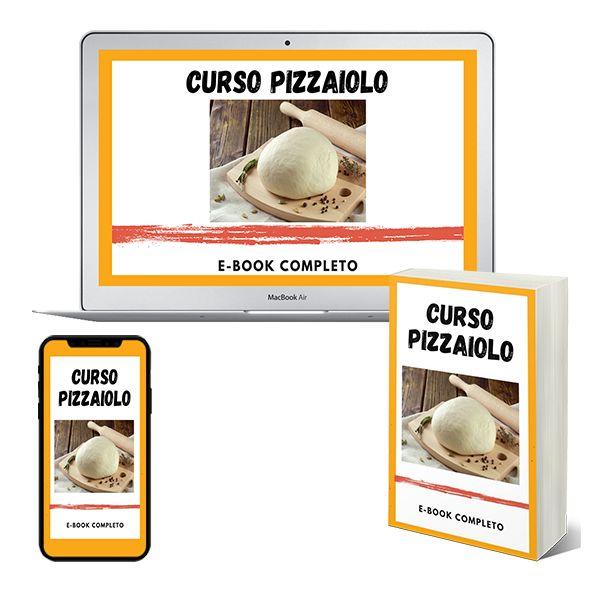 Imagem principal do produto E-book CURSO PIZZAIOLO - Tudo o que você precisa para ser um excelente Pizzaiolo!