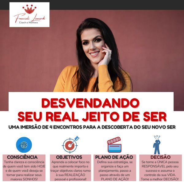 Imagem principal do produto IMERSÃO - Desvendando seu real jeito de ser!