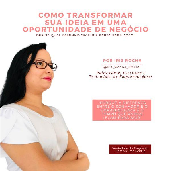 Imagem principal do produto Como Transformar Sua Ideia Em Uma Oportunidade De Negocio