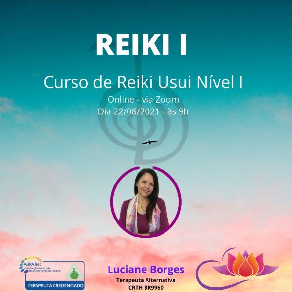 Imagem principal do produto Curso de Reiki Usui Nível I