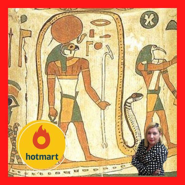 Imagem principal do produto COM CERTIFICADO DE 50 HORAS: 1.000 SLIDES: Apostila sobre Egiptologia e a Decifração dos Hieróglifos Egípcios