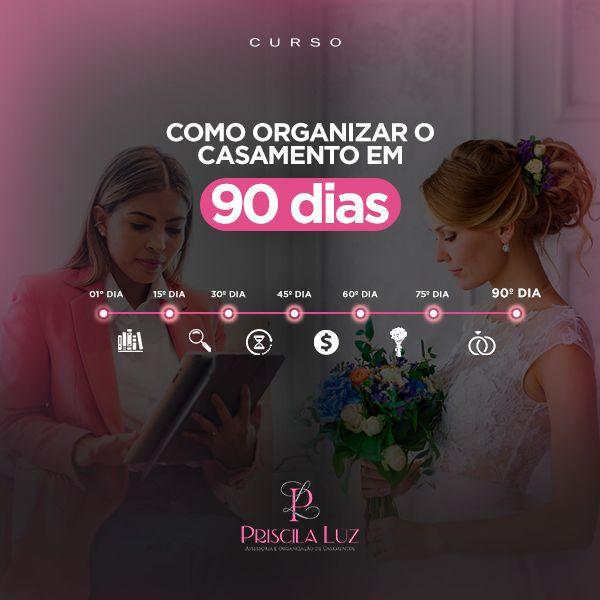 Imagem principal do produto Como organizar o casamento em 90 dias
