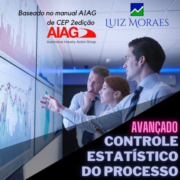 Imagem principal do produto CEP Controle Estatístico do Processo (Avançado)