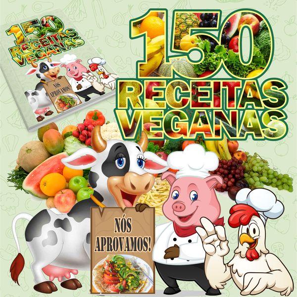 Imagem principal do produto 150 Receitas Veganas