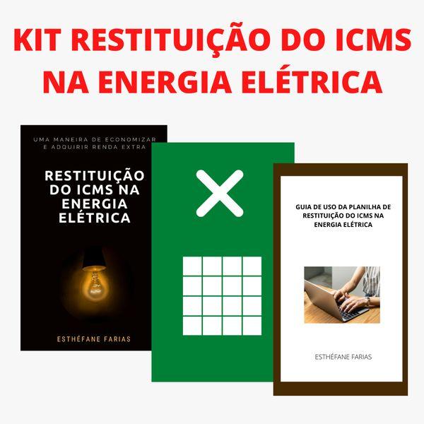 Imagem principal do produto KIT RESTITUIÇÃO DO ICMS NA ENERGIA ELÉTRICA
