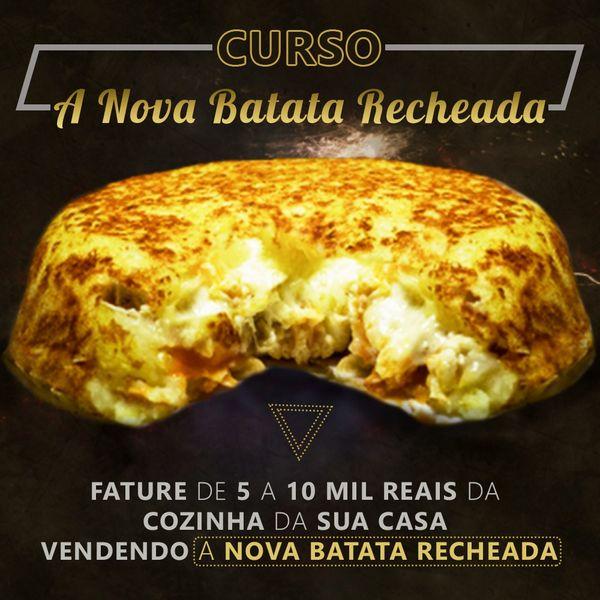 Imagem principal do produto Curso a Nova Batata Recheada