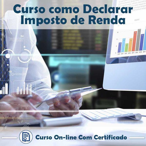 Imagem principal do produto Curso Como Declarar Imposto de Renda