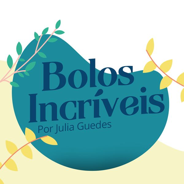 Imagem principal do produto Bolos Incríveis com Julia Guedes