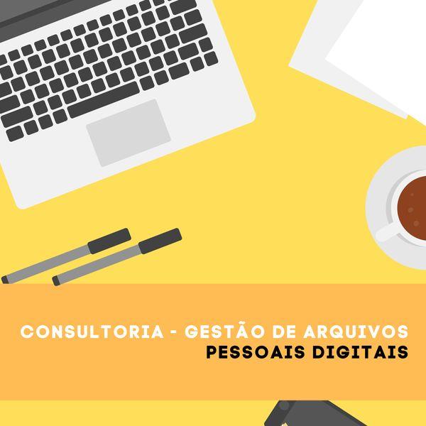 Imagem principal do produto Consultoria: Gestão de arquivos pessoais digitais - Duração da vídeo conferencia: 30 minutos