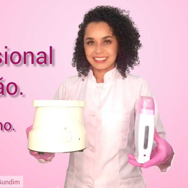 Imagem principal do produto Curso de depilação profissional.
