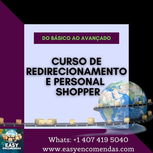 Imagem principal do produto Curso de Redirecionamento e Personal Shopper
