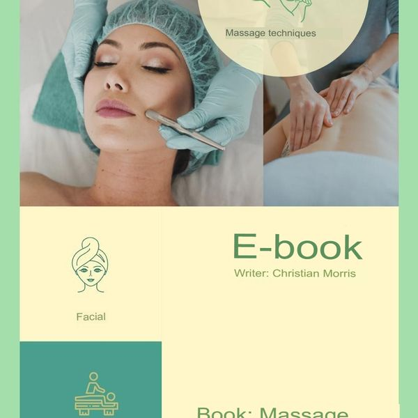 Imagem principal do produto E-book Massage Therapy Skin Health
