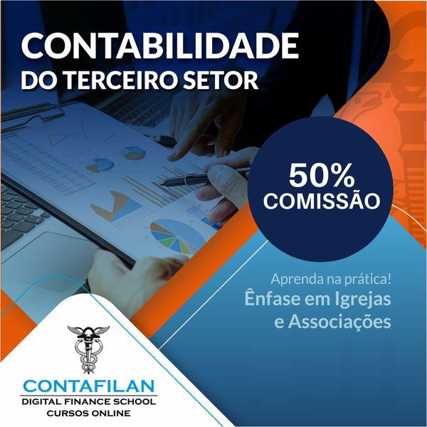 Imagem principal do produto Contabilidade do Terceiro Setor - Igrejas e Associações Aprenda na Prática!