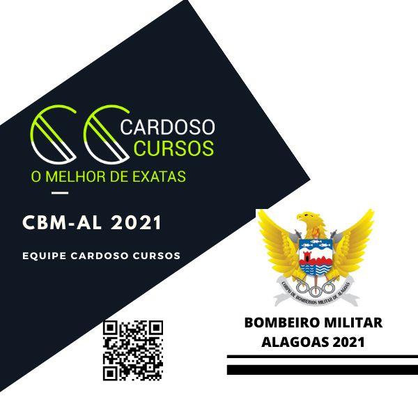 Imagem principal do produto CARDOSO CURSOS - BOMBEIRO MILITAR ALAGOAS 2021