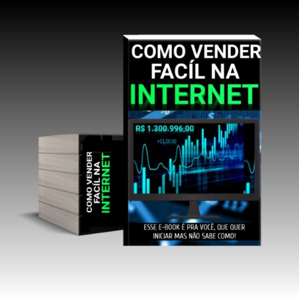 Imagem principal do produto COMO VENDER FÁCIL NA INTERNET