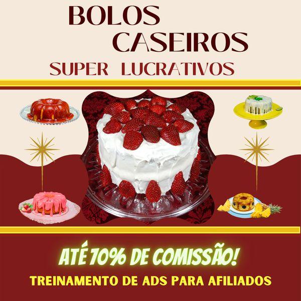 Imagem principal do produto Bolos Caseiros Super Lucrativos