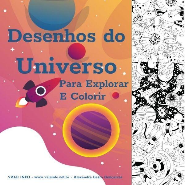 Imagem principal do produto DESENHOS DO UNIVERSO PARA EXPLORAR E COLORIR