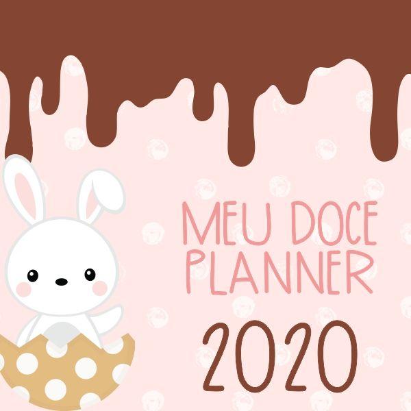 Imagem principal do produto Meu Planner - Doce Páscoa 2020