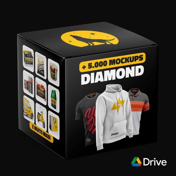 Imagem principal do produto DIAMOND MOCKUPS + DE 5 MIL ARQUIVOS PREMIUM