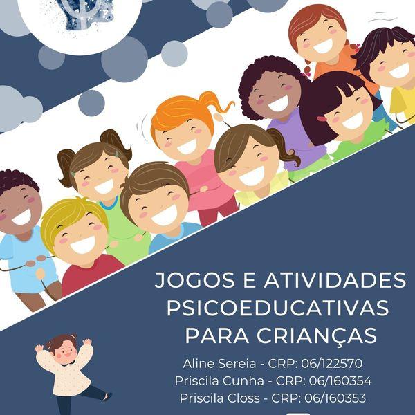 Imagem principal do produto E-book - 10 Atividades Psicoeducativas para Crianças