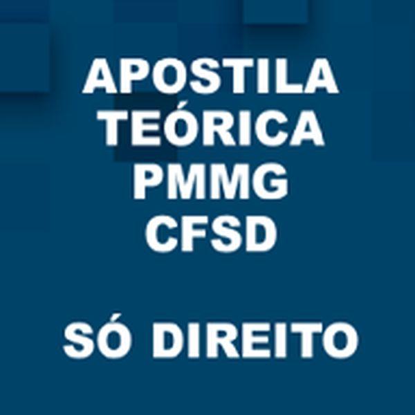 Imagem principal do produto Apostila CFSD PMMG Só Direito