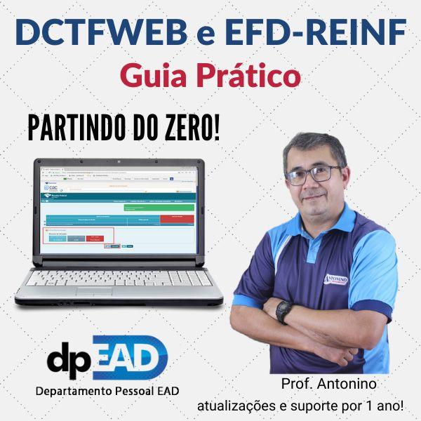 Imagem principal do produto DCTFWEB e EFD-REINF - Guia Prático