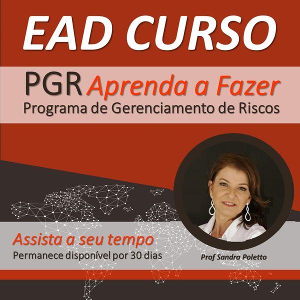 Imagem principal do produto EAD - PGR Programa de Gerenciamento de Riscos - Aprenda a fazer