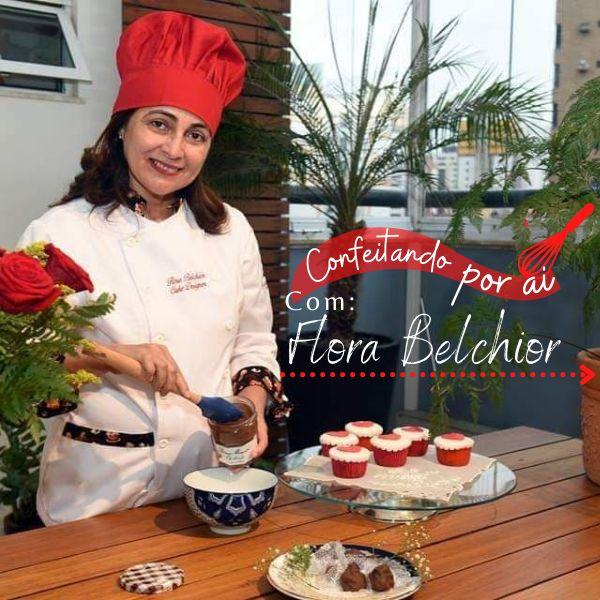 Imagem principal do produto CONFEITANDO POR AÍ COM FLORA BELCHIOR