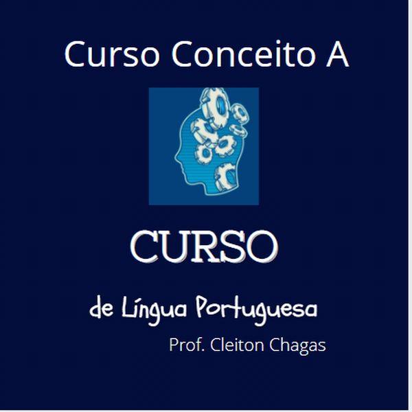 Imagem principal do produto Curso de Língua Portuguesa - Concurso Banco do Brasil