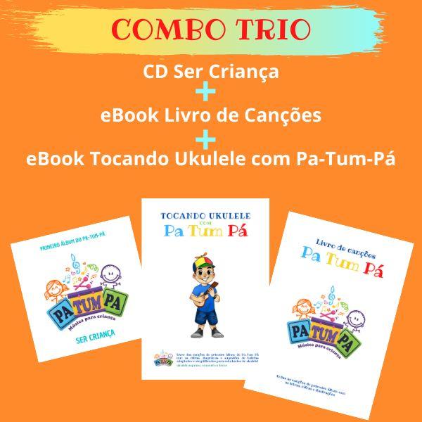 Imagem principal do produto CD+LIVRO DE CANÇÕES+TOCANDO UKULELE com PA-TUM-PÁ