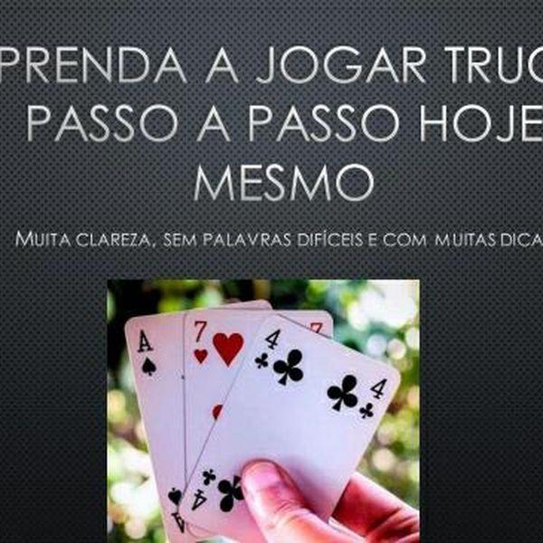 Imagem principal do produto APRENDA A JOGAR TRUCO PASSO A PASSO BEM SIMPLES