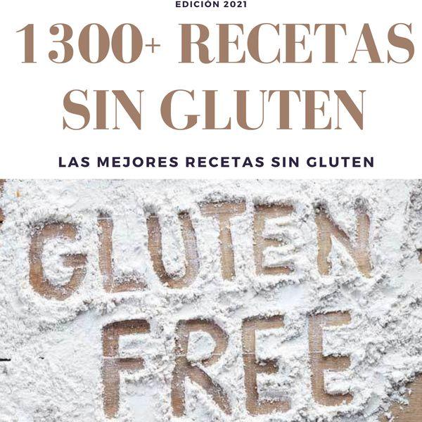 Imagem principal do produto 1300 Recetas Sin Gluten - Recetas para Celiacos