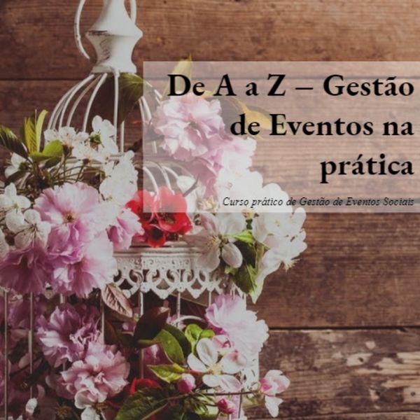Imagem principal do produto De A a Z - Gestão de Eventos na Prática