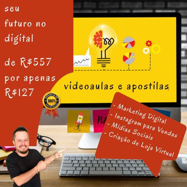 Imagem principal do produto Marketing para Vendas na Internet