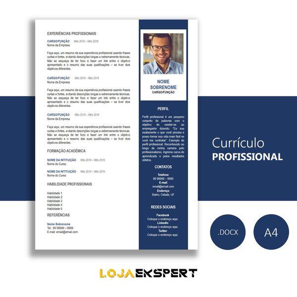 Imagem principal do produto Currículo Vol.0001