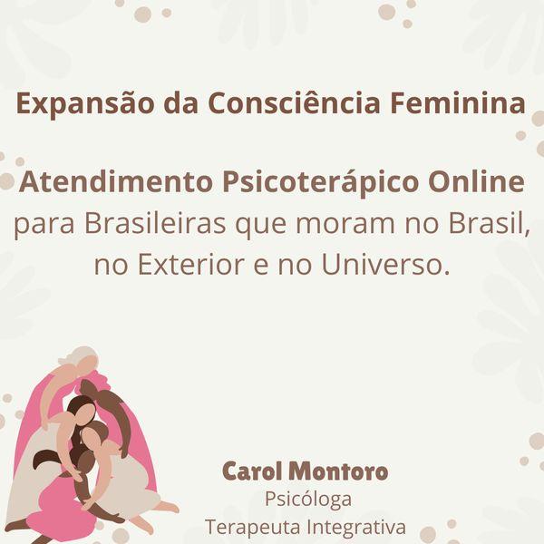 Imagem principal do produto Expansão da Consciência Feminina com Psicoterapia Integrativa Online