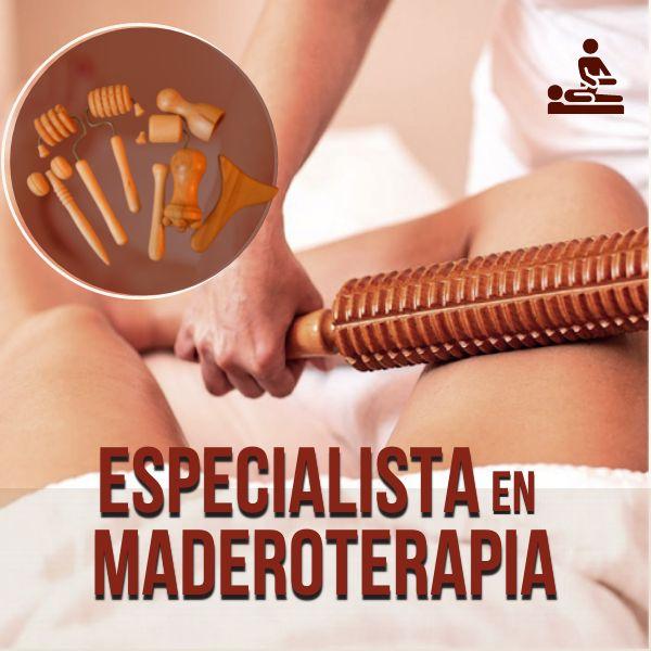 Imagem principal do produto Especialista en Maderoterapia