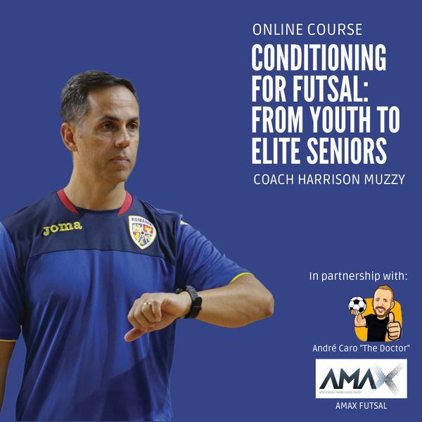 Imagem principal do produto Conditioning for Futsal: From Youth to Elite Seniors