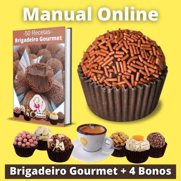 Imagem principal do produto Brigadeiro Gourmet Rentable - 50 Recetas