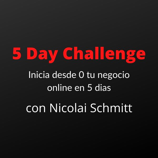 Imagem principal do produto 5 Day Challenge