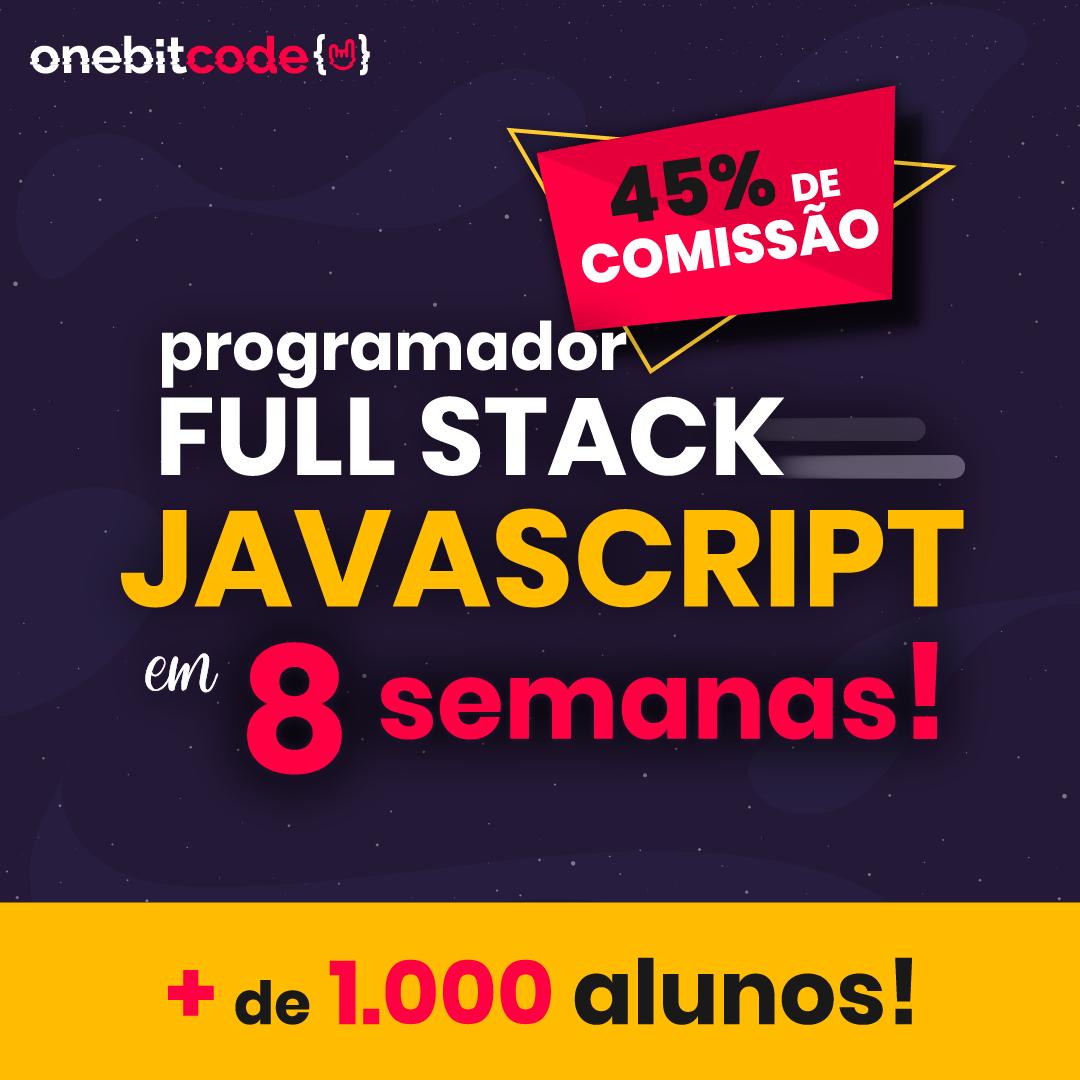 Programador Full Stack JavaScript em 8 semanas