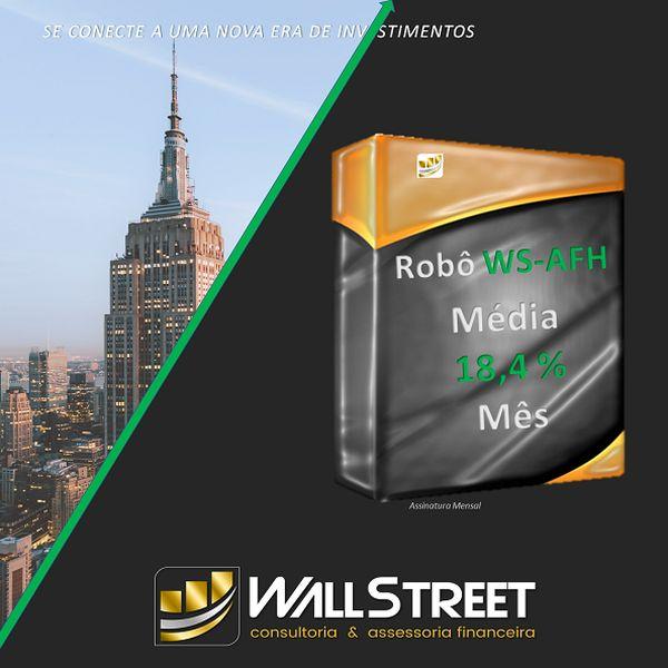 Imagem principal do produto Dinheiro extra com Robô de Investimentos da WallStreet